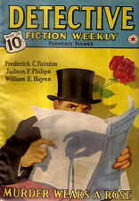 DETECTIVE FICTION WEEKLY  May 28, 1930. Volume 119, No. 4