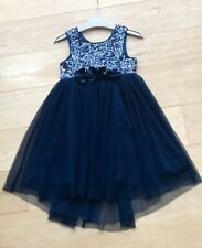 NEXT *5y GIRLS STUNNING Sequin PARTY Occasion Wedding Fabulous DRESS 5 YEARS