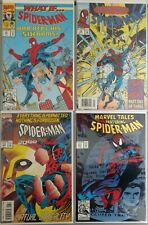 Lot of 4 1992-1993 SPIDER-MAN, All Comics in Fine Shape