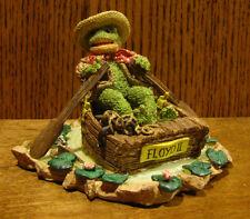 "Ganz Cottage Resin Figurine by Lorraine Chien, #CC2047 TIS THE LIFE, 4""x5""  Frog"