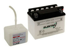 Batterie Elektra YB9-B avec de l'acide Piaggio Vespa 125 PX à partir de 00 Al 08