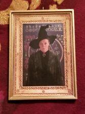 Minerva Mcgonagall Portrait Christmas Ornament Harry Potter Handmade