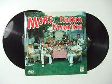 More Italian Favorites  - Disco 33 Giri LP (Doppio) Compilation USA 1976 Pop