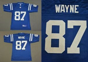 REEBOK Indianapolis Colts REGGIE WAYNE NFL Jersey SIZE S