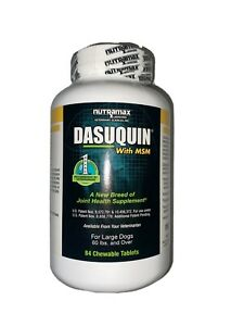 Dasuquin with MSM for Large Dogs (84 Chewable Tablets) Exp 11/24 NEW!