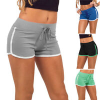 Mujer Verano Deporte Entrenamiento cinturilla Estrechos Yoga Elástico Shorts