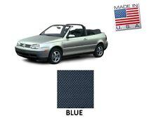 VW Volkswagen Golf Cabrio Cabriolet 1995-2001 Convertible Soft Top BLUE Vinyl
