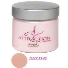 nsi Attraction Nail Powder - Peach Blush - 1.42oz