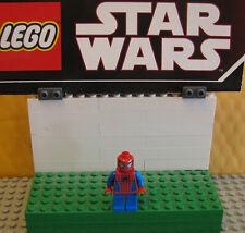 "Spider-Man Lego Lot Minifigure Minifig "" Spider-Man Original Light Blue """