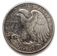 USA 1944  WALKING LIBERTY SUPERBE ARGENT half dollar