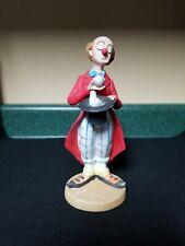 Vintage Lefton Clown Figurine.
