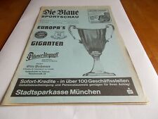 More details for bayern munich v everton 1985 ecwc semi final blue issue