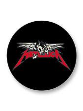 Pin Button Badge Ø25mm Metallica Logo Heavy Metal USA