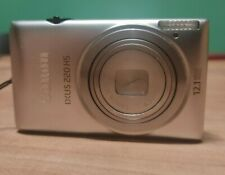 Canon IXUS 220 HS 12.1MP Digital Camera - Silver - Excellent Condition