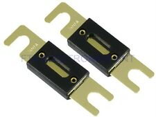 2PCs 300AMP 300A Car ANL Glass Fuse for Audio Subwoofer Amplifier Installation