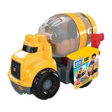 Mega Bloks First Builders Cat Cement Mixer Set NEW IN STOCK