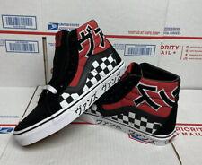Vans Sk8-Hi Japanese Type Men's Size 6.5 (Women's 8) Black/Red/White Skate Shoes