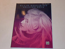 Ellie GOULDING halcyon DAYS piano VOCAL guitar PARTITION sheet music SONGBOOK