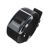 4X(Neue LED Uhr Luxux Fashion Frauen Digital Sportbuegel Armbanduhr fuer Dame PT
