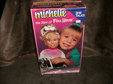 1990 Meritis Michelle Doll Star Of Full House With Box She Talks Loud & Clear