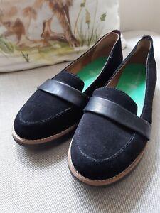 Moshulu loafers Black Nubuck 7