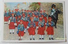 Image CHROMO COTE D'OR Collection FOLKLORE BELGE N°41 - FOSSE - Marche Militaire