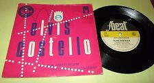 """ELVIS COSTELLO New Amsterdam 45 7"""" NM UK F BEAT 1980 w/PS PICTURE SLEEVE LISTEN"""