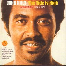 JOHN HOLT – THE TIDE IS HIGH (ANTHOLOGY 1962 TO 1979) (2-CD REGGAE COMPILATION)