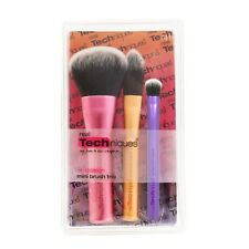 Real Techniques - Mini Brush Trio - 3 piece brush set for on the go