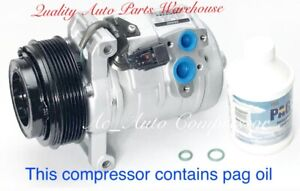 2004-2007 Cadillac CTS 2.8L & 3.6L DENSO OEM Reman. A/C Compressor W/ Warranty
