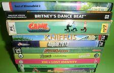 10 Stk. PC Spiele Sammlung / Konvolut (Game Tycoon, Shanghai Dynasty,...)