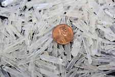 1000 Carat Lot (600+ pcs) Teeny Tiny Matchstick Quartz Crystal Needle Points