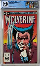 Wolverine Limited Series #1 CGC 9.8 1st solo Wolverine comic!KEY ISSUE!L@@K!