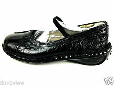 Lobo Solo Comfort Casual Black Mary Jane Women's Shoes Size 9 Usa.