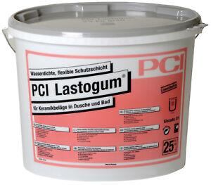 PCI Lastogum 25 KG Gris Film Liquide Étanchéité de Douche et Salle Bain