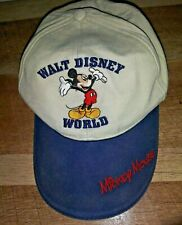 Walt Disney World Child Size Mickey Mouse Strapback Cap Hat