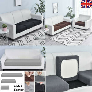 3 Seat Sofa Cushion Couch Slipcover Elastic Slip Cover Stretch Covers Protector