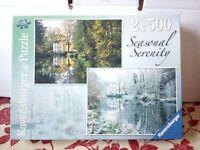 Ravensburger Seasonal Serenity Jigsaw Puzzles 2 X 500 Cringleford Mill Norfolk