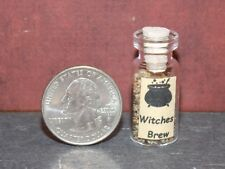 Dollhouse Miniature Witch Potion Jar Witches Brew 1:12 scale H87 Dollys Gallery