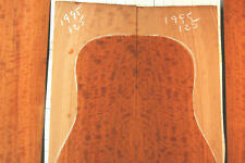 incredible beeswing curly cherry tonewood guitar luthier set back and sides old