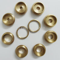 10PCS Brass Router Template Guide Bushing Kit Set For Wood Router