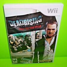 Dead Rising: Chop Til You Drop (Nintendo Wii, 2009) Game, Case, Manual Tested