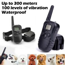 Anti-Bark LCD Electric Shock E-Collar Dog Training Remote Control Rechargeable