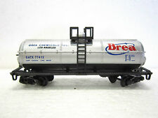 MODEL POWER N scale BREA CHEMICALS 40' CHEMICAL TANK CAR #83758 New in box