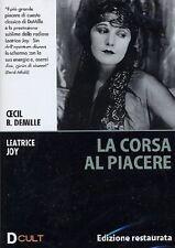 DvD LA CORSA AL PIACERE (1925) ** Edizione Restaurata ** ...NUOVO