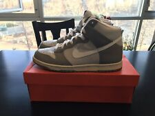 01ec69fb1cc7a1 2008 NIKE DUNK HI Neutral Grey White High Top Sneakers Shoes Men s 11.5