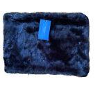 Simply Vera Wang Black Faux Fur Collar Neck Warmer - Scarf NEW