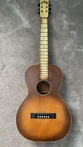 vintage 1930's Slingerland May Bell Parlor Acoustic Guitar great depression Era