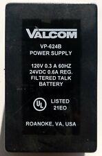 VALCOM VP-624B Direct Plug-In Telephone Power Supply