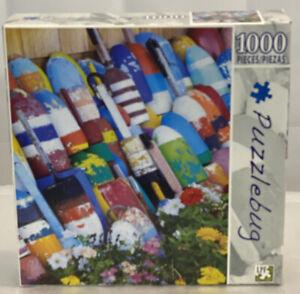 Puzzlebug FISHING BUOYS IN ROCKPORT Jigsaw Puzzle 1000 piece 18.25X23